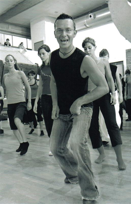 Rodrigue Vieux professeur de danse