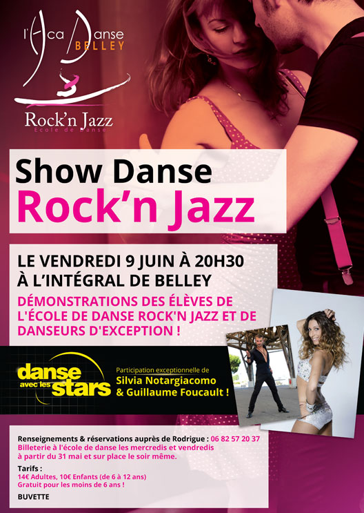 Affiche show danse belley