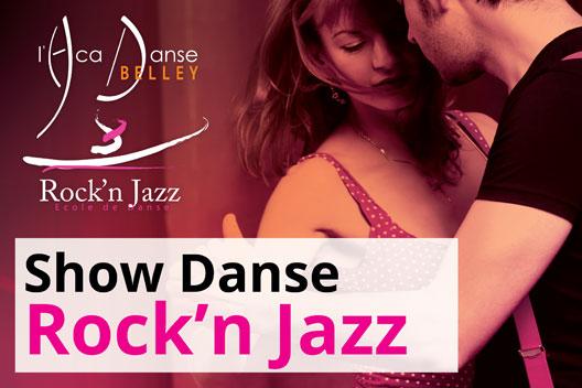 Affiche show danse